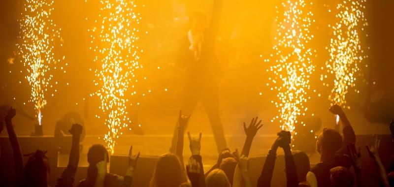 Bühnenfeuerwerke