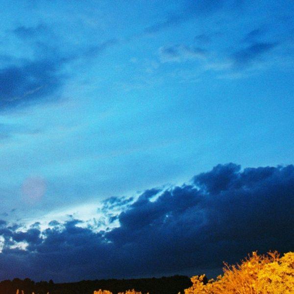 Foto: Feuerwerk: Gewitterfront
