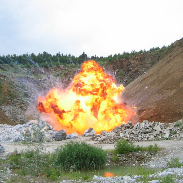Foto: Spezialeffekte: Explosion