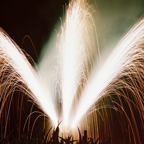 Foto: Barockfeuerwerk: Fächervulkane