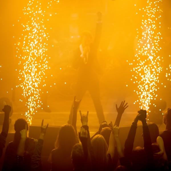 Foto: Bühnenfeuerwerk