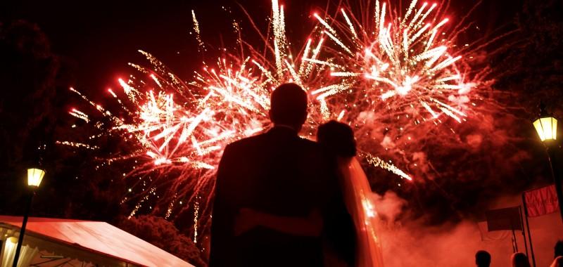 Hochzeits- und Party-Feuerwerke